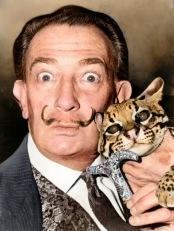 Salvador Dalí. Foto por Roger Higgins (1965)