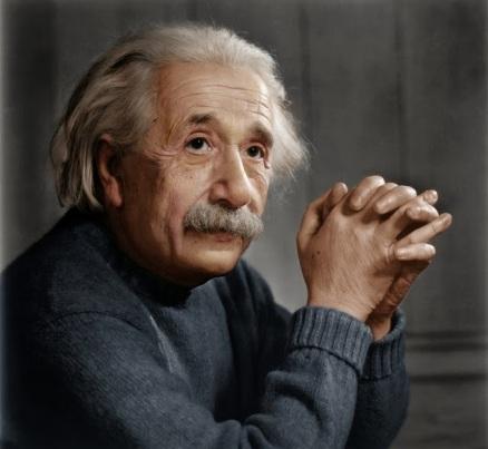 Retrato de Albert Einstein por Yousuf Karsh (1948)