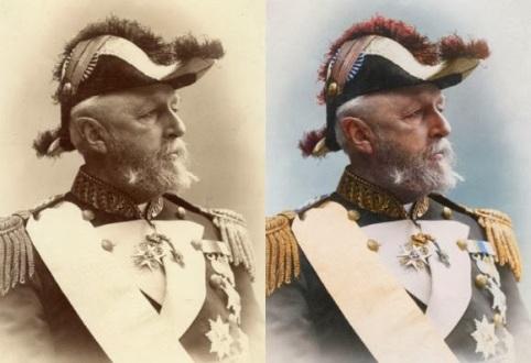 Oscar II, Rei da Suécia e Noruega, 1880