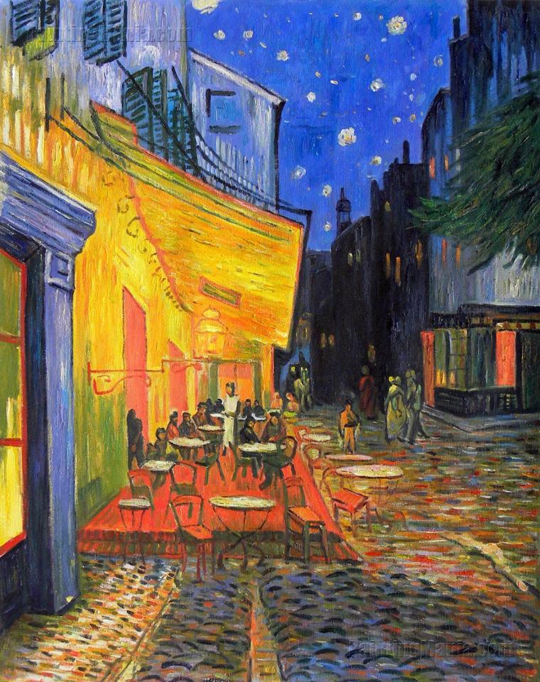Café Terrace, Place du Forum, Arles - Van Gogh