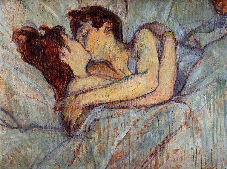 O Beijo - Henri de Toulouse-Lautrec