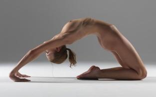 Yoga advanced Camel Pose Stretch