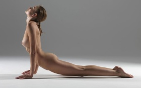 Yoga Cobra Pose