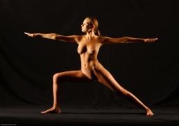 Yoga Warrior II Pose