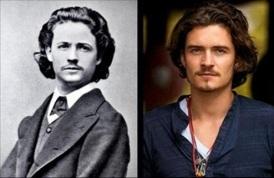 Nicolae Grigorescu (pintor romeno do Século XIX) e Orlando Bloom (ator)
