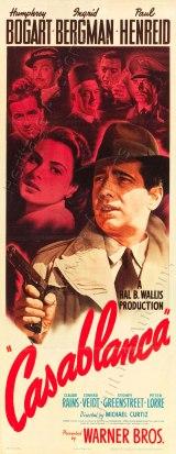 1942 Casablanca Movie Poster