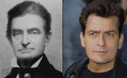 John Brown (abolicionista norte-americano) e Charlie Sheen (comediante norte-americano)