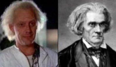 Christopher Lloyd (ator norte-americano) e John C. Calhoun (político e filósofo dos Séculos XVIII e XIX)