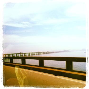 Detalhe Ponte Rio-Niterói
