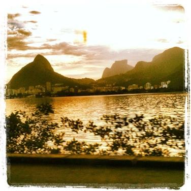 Vista Lagoa Rodrigo de Freitas