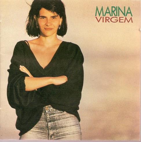Capa do disco Virgem (1987) Marina