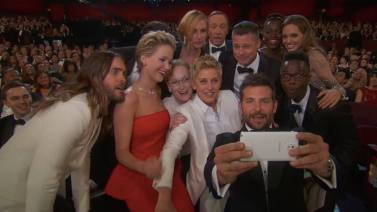 A #selfie da década