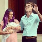Kate & William com o herdeiro do trono real