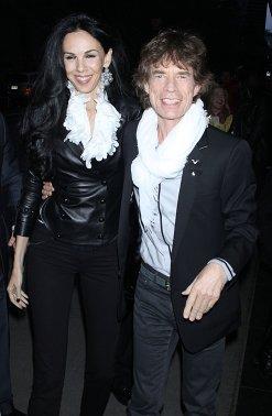 L'wren Scott and Mick Jagger - Pitadas do Sal (1)
