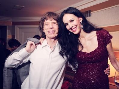 L'wren Scott and Mick Jagger - Pitadas do Sal (2)