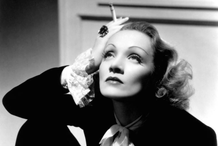 Marlene Dietrich, em O Anjo Azul (1933)