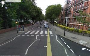 A abbey Road atualmente em um dia normal