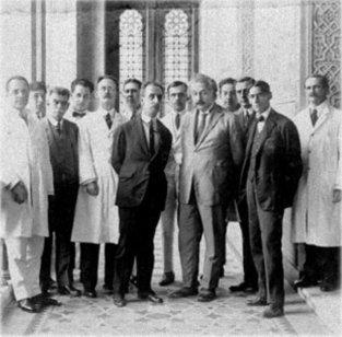 Adolfo Lutz, Carlos Chagas e Albert Einstein