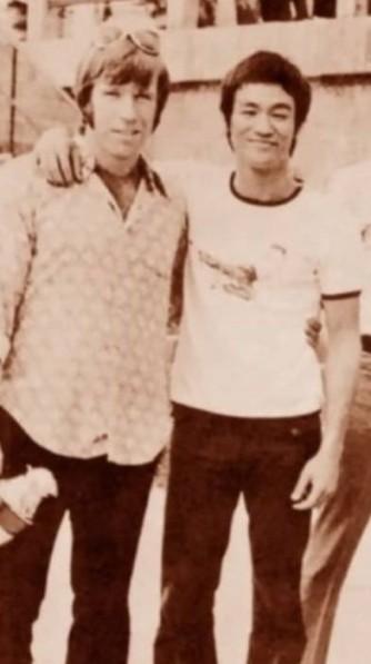 Chuck Norris e Bruce Lee