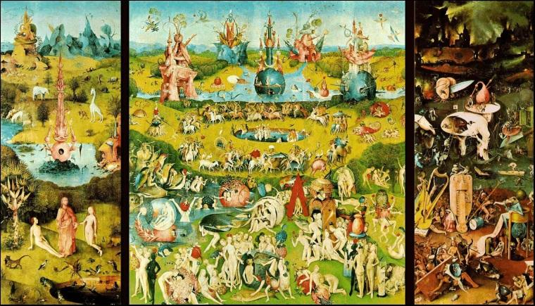 Jardim das Delícias - por Hieronymus Bosch (1504)
