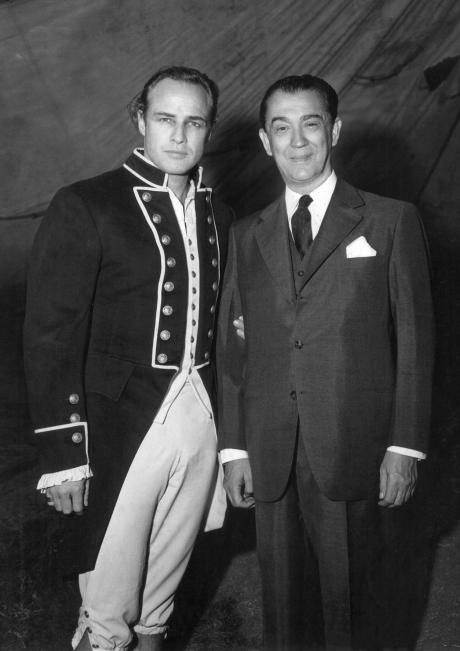 Marlon Brando e Juscelino Kubitschek