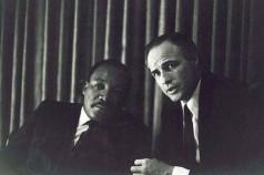 Martin Luther King Jr. e Marlon Brando