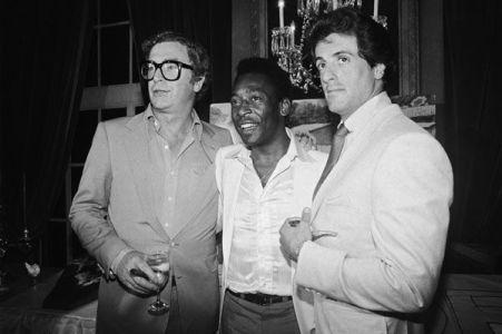 Michael Caine, Pelé e Sylvester Stallone