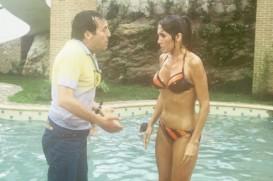 O casal Roberto Gómez Bolaños (Chaves) e Florinda Meza (Dona Florinda)