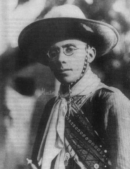 Virgulino Ferreira, conhecido como Lampião – o líder dos cangaceiros