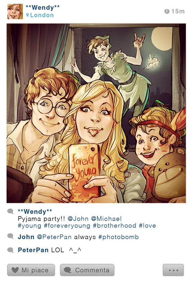 Se-os-personagens-da-Disney-tivessem-Instagram-6