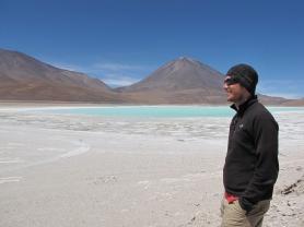 Zimmermann em Salar de Uyuni, Bolívia (Charles Zimmermann)